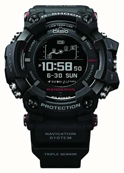 Casio G-Shock Rangeman GPS Position Solar Rechargable GPR-B1000-1ER - First  Class Watches™ 358a69cb4c80