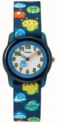 Timex Youth Analog 28mm Black Strap Monster TW7C25800