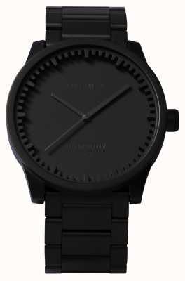 Leff Amsterdam Tube Watch S42 Black Case Black Bracelet LT72102