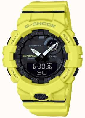Casio G-Shock Bluetooth Fitness Step Tracker Yellow Strap GBA-800-9AER