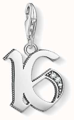 Thomas Sabo Sterling Silver 16 Charm 1509-643-21