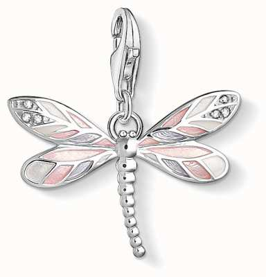 Thomas Sabo Dragonfly Sterling Silver Charm 1516-041-9