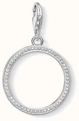 Thomas Sabo Circle Sterling Silver Charm 1530-051-14