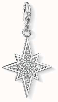 Thomas Sabo Glitter Star Sterling Silver Charm 1540-051-14