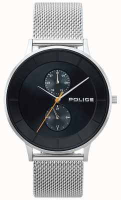 Police Berkeley Steel Mesh Mens Watch 15402JS/02MM