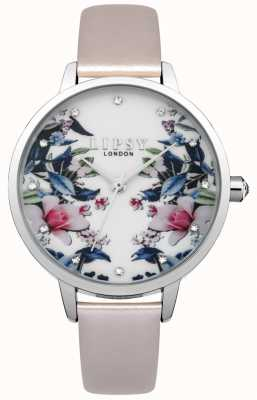 Lipsy Womens Floral Pattern Watch LP574