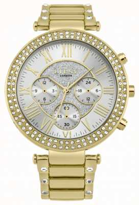 Lipsy Womens Crystal Bezel Gold Bracelet Watch LP561
