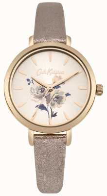 Cath Kidston Womens Island Bunch Metallic Rose Gold Strap Watch CKL049RG