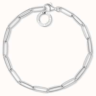 Thomas Sabo 18.5cm Sterling Silver Link Charm Bracelet X0253-001-21-L18,5