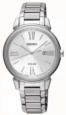 Seiko Solar Powered Stainless Steel Date Display SUT323P1