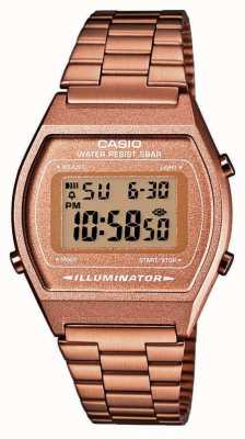 Casio Vintage Core Classic Digital Illuminator Rose Gold PVD B640WC-5AEF