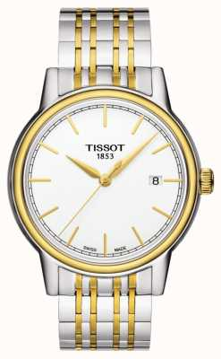 Tissot Carson Mens Quartz Two Tone Swiss Made Date T0854102201100