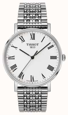 Tissot Mens Everytime Medium Sapphire Stainless Steel Bracelet T1094101103300