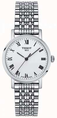 Tissot Womens Everytime Small Sapphire Silver Dial Stainless Steel T1092101103300