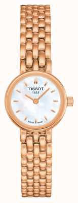Tissot Women's Lovely Rose Gold PVD Plated MOP Dial T0580093311100
