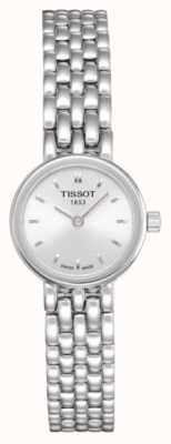Tissot Womens Lovely Stainless Steel Bracelet Plated Silver Dial T0580091103100