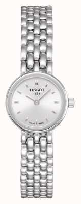 Tissot Women's Lovely Stainless Steel Bracelet Plated Silver Dial T0580091103100