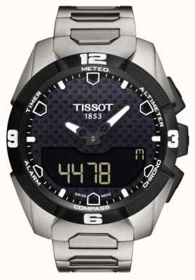 Tissot Mens T-Touch Expert Solar Titanium Bracelet Twin Sensor T0914204405100