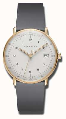 Junghans Max Bill Damen Quartz Grey Leather Watch 047/7854.00