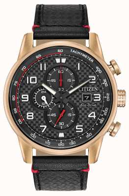 Citizen Men's Sport Chronograph Date Display 24 Hour Sub Dial CA0683-08E