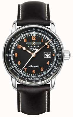 Zeppelin 100 Years Automatic Pulsometer Date Display 7654-5