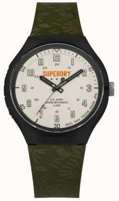 Superdry S.D Army Urban XL Tropic Cam Khaki Strap SYG225N