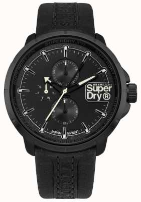 Superdry Kyoto Ranger Black Strap Black Dial SYG218BB