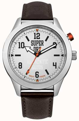 Superdry Yokohama Night Vision Brown Strap SYG187BR