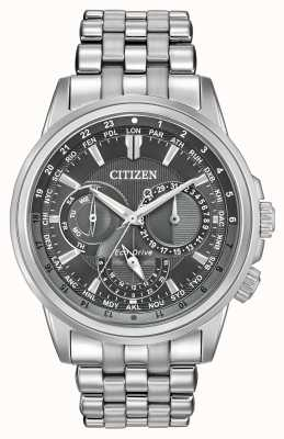 Citizen Men's Sport World Time Stainless Steel Case & Bracelet BU2021-51H