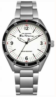 Ben Sherman Cream Dial Silver Stainless Steel Case & Bracelet BS007WSM