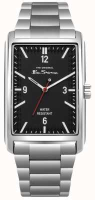 Ben Sherman Black Dial Stainless Steel Case & Bracelet BS013BSM