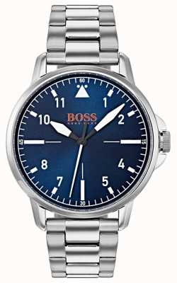 748c625961de Hugo Boss Mens Oxygen Grey Watch Stainless Steel Bracelet Sunray ...