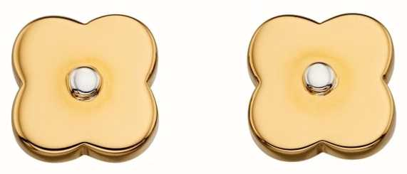 Orla Kiely Gold Pl Shadow Flower Ear E5476