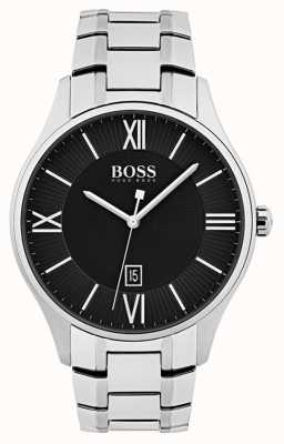 Hugo Boss Mens Governor Watch Black Dial 1513488