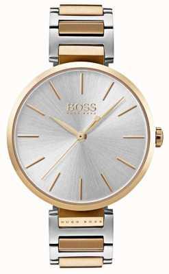 Hugo Boss Womens Allusion Watch Two Tone Steel 1502417