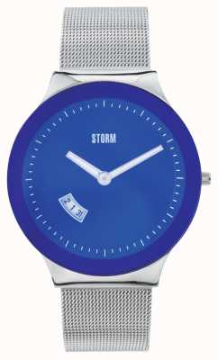 STORM Sotec Lazer Blue Stainless Steel Mesh 47075/B