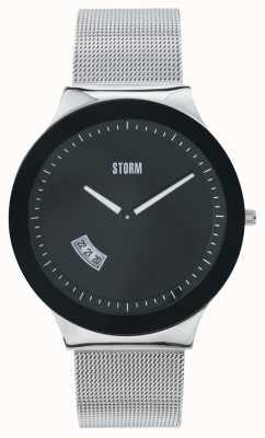 STORM Sotec Black Stainless Steel Mesh 47075/BK