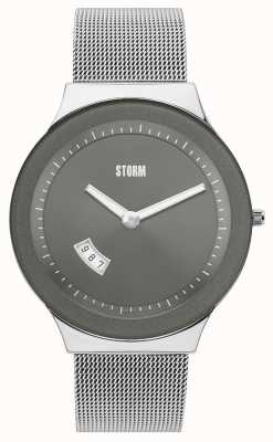 STORM Sotec Grey Stainless Steel Mesh 47075/GY