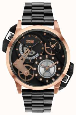 STORM Dualon Rose Gold Dual Time IP Bracelet 47135/RG