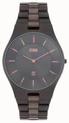 STORM Slim-x Xl Titanium IP Bracelet 47159/TN