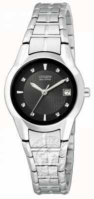 Citizen Ladies Eco-Drive Silhouette Stainless Steel EW1410-50E