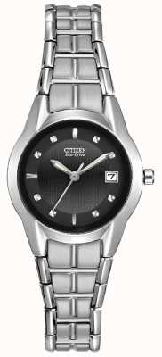 Citizen Ladies Eco-Drive Silhouette Stainless Steel EW1410-50E