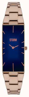 STORM Ixia Rose Gold Blue 47255/B