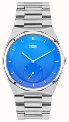 STORM Voltor Lazer Blue Stainless Steel 47283/B