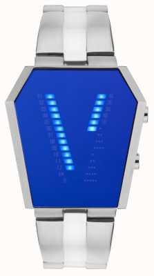 STORM Vaultron Lazer Blue Stainless Steel 47361/B