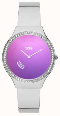 STORM Cody Crystal Purple Stainless Steel 47373/P
