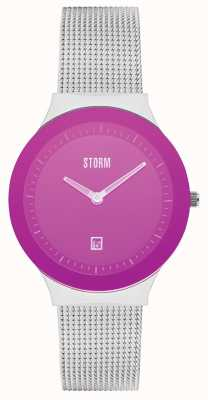STORM Mini Sotec Lazer Purple Stainless Steel Mesh 47383/P