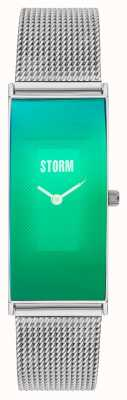 STORM Elza Lazer Green Stainless Steel Mesh 47396/GN