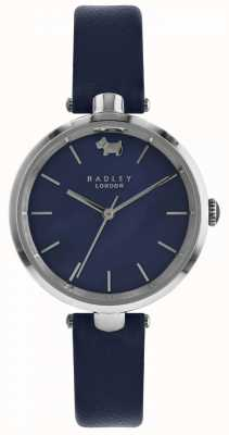 Radley Womens St Dunstans Navy Leather Watch RY2551