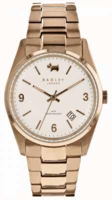 Radley Womens Burnham Beeches Rose Gold Tone Watch RY4310